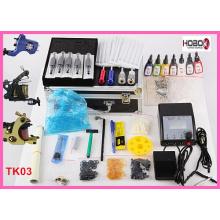 Tatuaje Kit máquinas Color tintas Power suministro Tko3