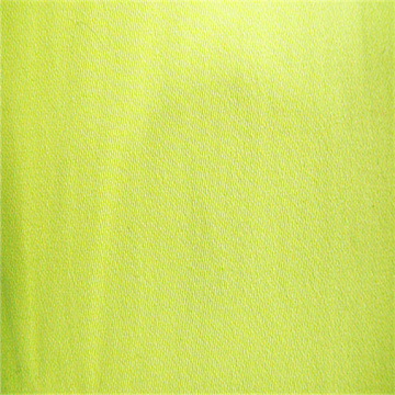 Tissu fluorescent 85% polyester 15% coton 4/1 satiné