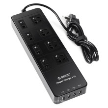 ORICO TPC 8A4U 8 outlets surge protector with USB smart charging port