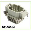 Connecteurs de câbles industriels résistants mâles femelles Ip65