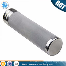 Eco-friendly reusable stainless steel corny keg dry hopper home brew dry hop filter with lid