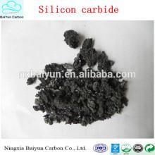 Precio de polvo de carburo de silicio de alta dureza para pulir con chorro de arena