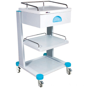 Krankenhaus Stahl Physiochemical Board Top Instrument Trolley