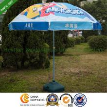 2.2m calor transferência impressão Sun Parasol com duplo costelas (BU-0048WD)