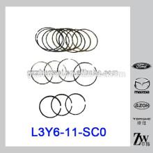 Peças Auto RIK Piston Ring STD para Mazda M6 / 2.0 2.3 / M3 L3Y6-11-SC0 RIK30155