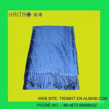 100%% Beautiful RAW Silk SHAWL SCARFwith Vivid Vibrant Colors