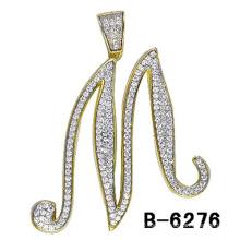Nuevo colgante de la letra de la plata esterlina de la joyería 925 de la manera