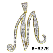 New Fashion Jewelry Pendentif lettre en argent sterling 925