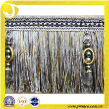 brush tassel fringe trim ,decorative sofa or curtain