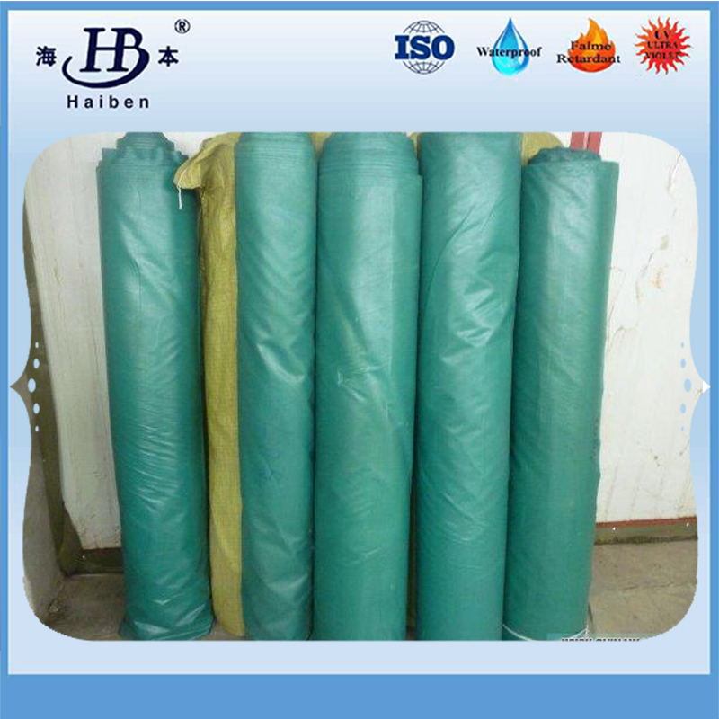 Heat resistant and cold resistant pvc coated tarpaulin