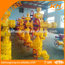API 6A 5000PSI Équipement de tête de puits latéral
