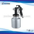 2015 wenling air tools chrome paint hvlp paint double nozzle spray gun