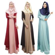 Middle East fashion 2017 women soft cheap cotton Abaya Muslim long Dress