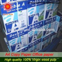 Comercio al por mayor 80GSM fino papel de copia A4 de alta calidad con precio barato