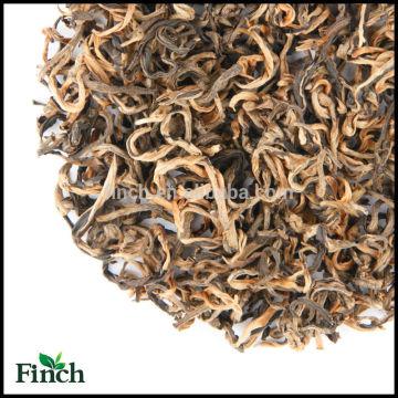 Nutzen für die Gesundheit und Abnehmen Roter Tee Bulk Chinese Imperial Yunnan EU-Standard Schwarzer Tee Golden Monkey Schwarzer Tee