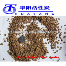 8*12mesh walnut shell grit for polishing reasonable price sale
