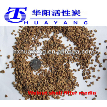 8*12mesh walnut shell grit for polishing reasonable price sale