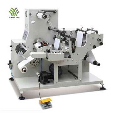 Ротационная высекальная машина для бумаги с функцией продольной резки