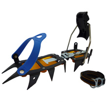 CRM-12-C 12 Teeth Combi Version Climbing Snow Shoe Crampon