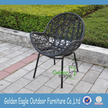 PE Rattan Outdoor Table y Sillas