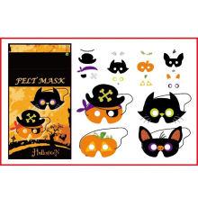 A festa do brincadeira de artesanato do Dia das Bruxas sentiu máscara difusa