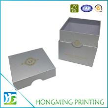 Gold Logo Printed Cardboard Candle Packaging Box