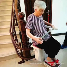 Personas discapacitadas Elevador de escaleras Elevador eléctrico Elevador de sillas Elevador de escaleras