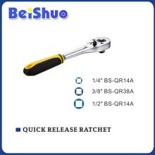 CRV Handle Quick Release Ratchet of Socket Wrench