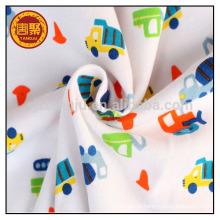 Tela 100% do urdidura do algodão para a roupa interior do bebê