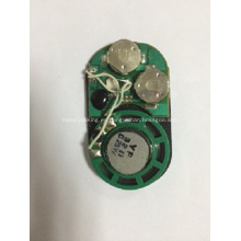 Sensor de luz Módulo de sonido para caja de regalo, módulo vocal, chip de sonido, módulo de voz para bolsa de papel