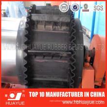 Endless Ep Nn Material Flat Sidewall Rubber Conveyor Belt