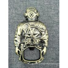 High Quality 3D Die Casting Bronze Bottle Opener