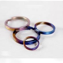 3pcs titanium keychain personal accessory key rings