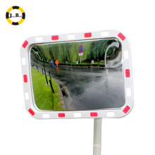 high quality rectangle convex mirror for traffic safety