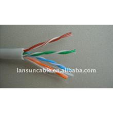 Câble LAN / réseau de haute qualité 4P 24awg UTP Cat5e extérieur / intérieur
