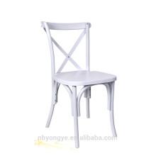 Chaise arrière en bois de style campagnard