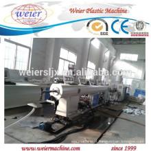 Máquina de produção de tubos de canalização elétrica plástica PP PE