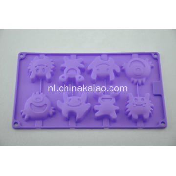 Purple Cake Jelly Mold Siliconen Dienblad