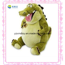 Verde, rir, enchido, dinossauro, brinquedo