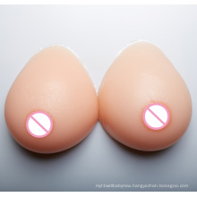 Waterdrop Shape Silicone Breast Form Artificial Boobs For Crossdressers