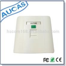 Aucas modular jack face plate, rj45 keystone jack faceplate