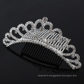 Ladies Rhinestone Comb Crystal nuptiale peignes