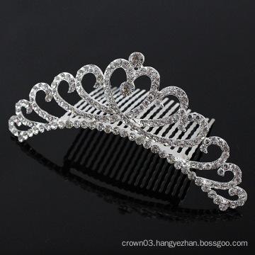 Ladies Rhinestone Comb Crystal Bridal Hair Combs