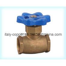 Vanne Globe en laiton certifiée ISO9001 (AV4004)