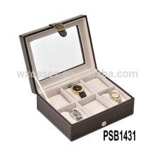 кожа Смотреть Коробка для 6 часы из Китая производителя высокого качества