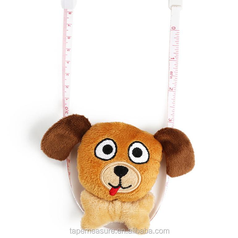 Geschenk Werbeartikel Mini-Spielzeug Cartoon-Stil Maßband umweltfreundliches elastisches Glasfaser-Maßband