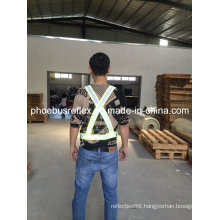 Reflective Safety Shoulder Belt En13356 Standard