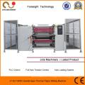 Machine de fente de papier de rebobineuse de papier thermique de découpeuse de papier d'ECG de double-couche
