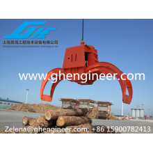 25T diesel engine Wireless remote control grab for loading bulk material