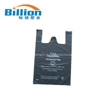 Kundenspezifische Plastikt-shirt Tasche
